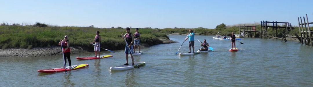 Découvrez le Stand-Up Paddle